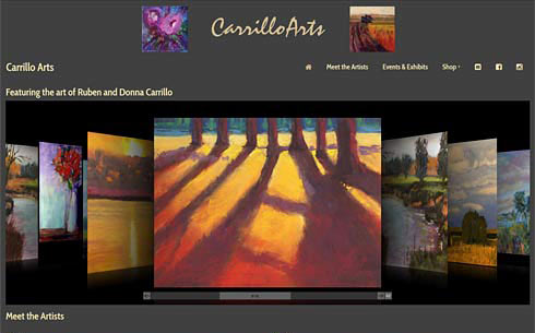 Carrillo Arts screen shot